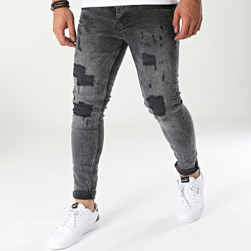 Classic Series - Jean Skinny DHZ-3481 Gris Anthracite