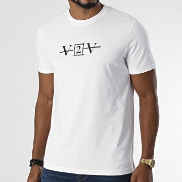 Da Uzi - Tee Shirt V2V Blanc Noir