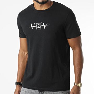 Da Uzi - Tee Shirt V2V Noir Blanc