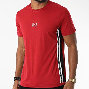 EA7 Emporio Armani - Tee Shirt A Bandes 6KPT04-PJ02Z Rouge