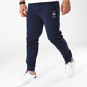 FFF - Pantalon Jogging A Bandes F21018 Bleu Marine