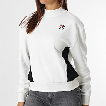Fila - Sweat Crewneck Femme 688972 blanc
