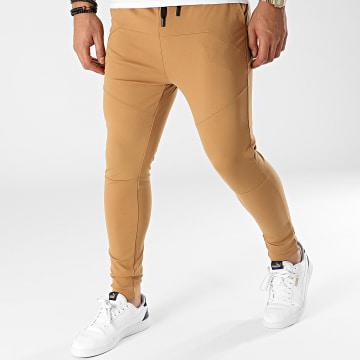 John H - Pantalon Jogging P2160 Camel