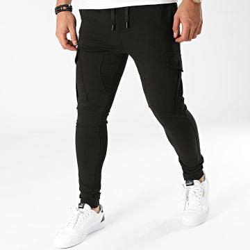 John H - Pantalon Jogging P258 Noir