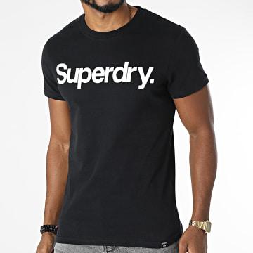 Superdry - Tee Shirt M1011355A Noir