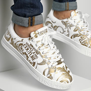 Versace Jeans Couture - Baskets Fondo Court 71YA3SK4 White