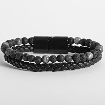 California Jewels - Bracelet AE097 Noir