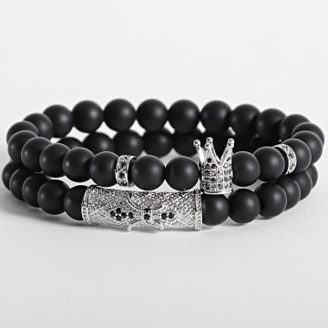 California Jewels - Bracelet AE102 Noir