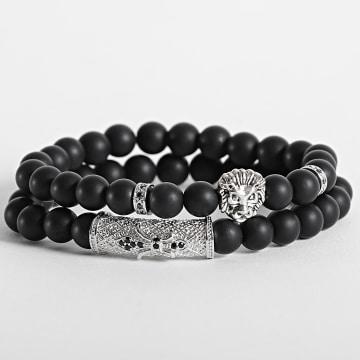 California Jewels - Bracelet AE103 Noir