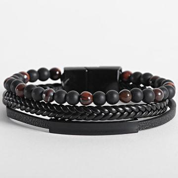 California Jewels - Bracelet AE107 Noir