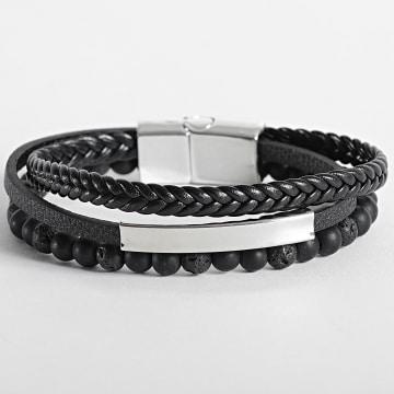 California Jewels - Bracelet AE111 Noir Chrome