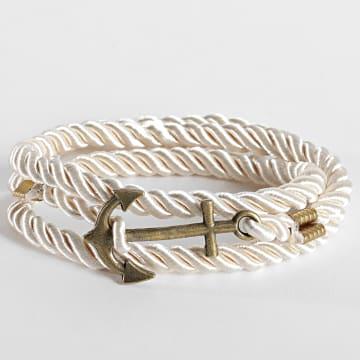 California Jewels - Bracelet AE125 Blanc Doré