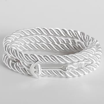 California Jewels - Bracelet AE126 Blanc Argenté