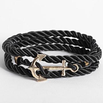 California Jewels - Bracelet AE127 Noir Doré
