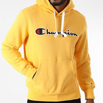 Champion - Sweat Capuche 216470 Jaune