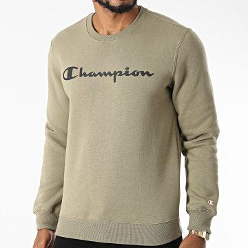 Champion - Sweat Crewneck 214744 Vert Kaki