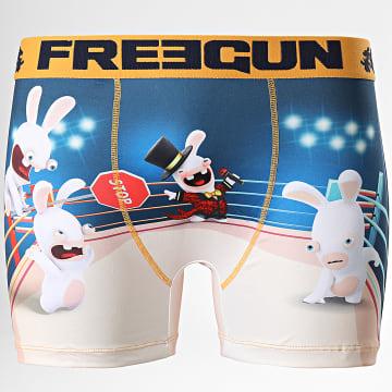 Freegun - Boxer Lapin Crétins Ring Bleu