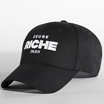 Jeune Riche - Casquette Impact Noir Blanc
