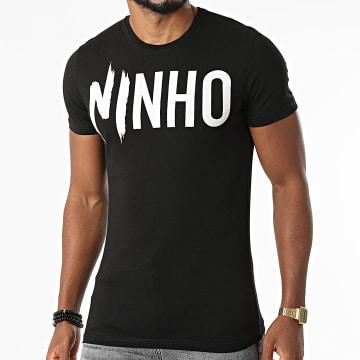 NI by Ninho - Tee Shirt TS002 Noir Blanc
