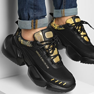 Versace Jeans Couture - Baskets Fondo Gravity 71YA3SU5 Black