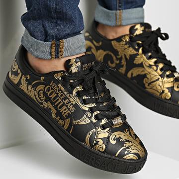 Versace Jeans Couture - Baskets Fondo Court 71YA3SK4 Black