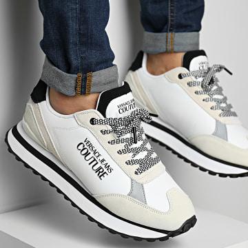 Versace Jeans Couture - Baskets Fondo Spyke 71YA3SE2 White