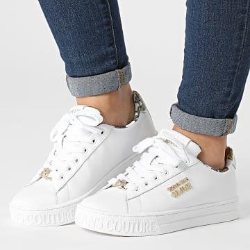Versace Jeans Couture - Baskets Femme Fondo Court 71VA3SKL White Gold