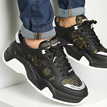 Versace Jeans Couture - Baskets Fondo Stargaze 71YA3SF9 Black
