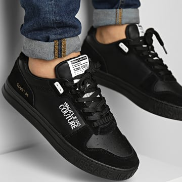 Versace Jeans Couture - Baskets Fondo Court 71YA3SK8 Black