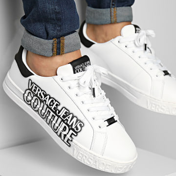 Versace Jeans Couture - Baskets Fondo Court 71YA3SKD White