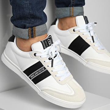 Versace Jeans Couture - Baskets Fondo Spinner 71YA3SO1 White