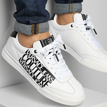 Versace Jeans Couture - Baskets Fondo Spinner 71YA3SO3 White