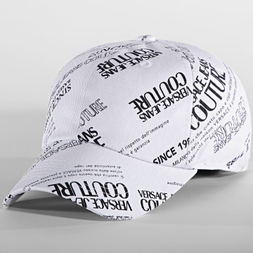 Versace Jeans Couture - Casquette Printed Warranty Blanc