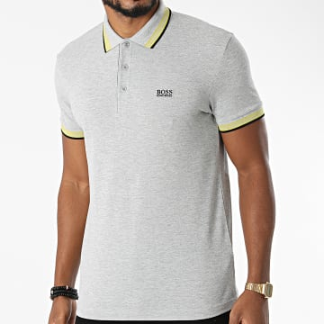 BOSS - Polo Manches Courtes Paddy 50398302 Gris Chiné