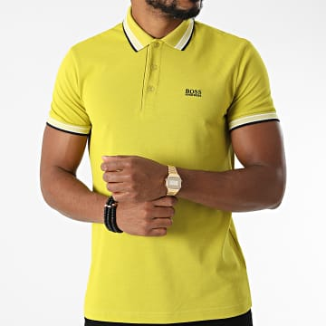 BOSS - Polo Manches Courtes Paddy 50398302 Vert Clair