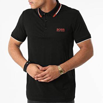 BOSS - Polo Manches Courtes 50430796 Noir