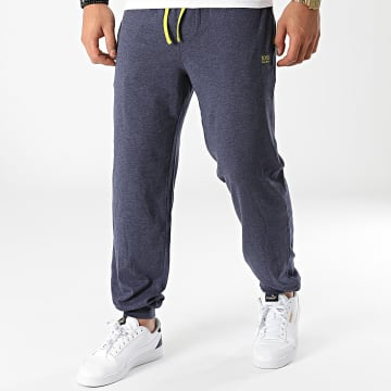 BOSS - Pantalon Jogging 50381880 Bleu Marine Chiné