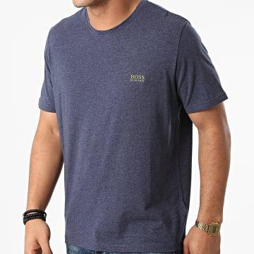BOSS - Tee Shirt 50381904 Bleu Marine Chiné