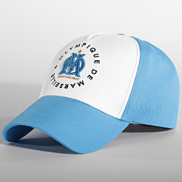 OM - Casquette Logo Fan M21016 Bleu Clair