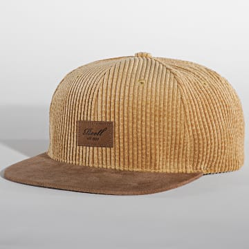 Reell Jeans - Casquette Suede Camel