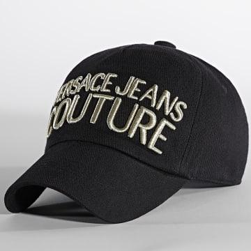 Versace Jeans Couture - Casquette Canvas Basic Noir Doré