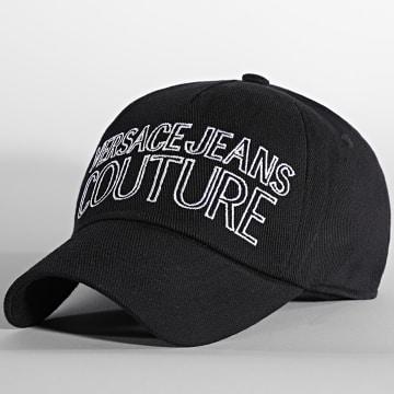 Versace Jeans Couture - Casquette Canvas Basic Noir