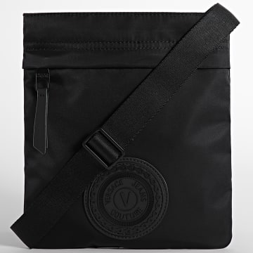 Versace Jeans Couture - Sacoche Range V-Emblem Noir