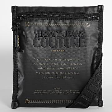 Versace Jeans Couture - Sacoche Range Warranty Label Noir