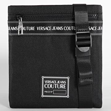 Versace Jeans Couture - Sacoche Range Brand Stripe Noir