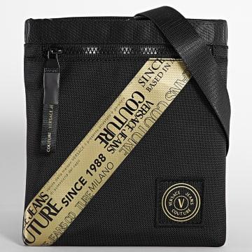 Versace Jeans Couture - Sacoche Warranty Tape Noir