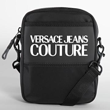 Versace Jeans Couture - Sacoche Range Logo Type Noir