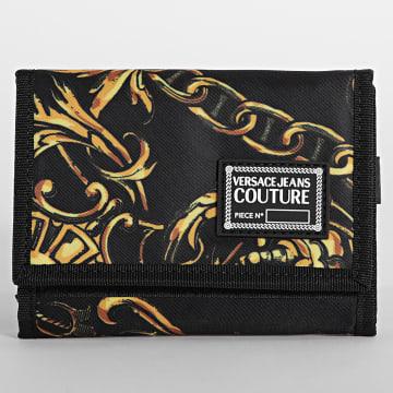 Versace Jeans Couture - Portefeuille Range Tag Baroque Noir Renaissance