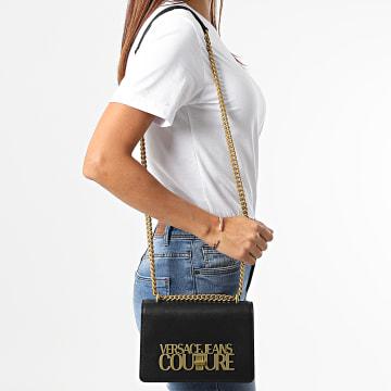 Versace Jeans Couture - Sac A Main Femme Logo Lock Noir