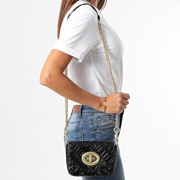 Versace Jeans Couture - Sac A Main Femme Range Monogram Noir